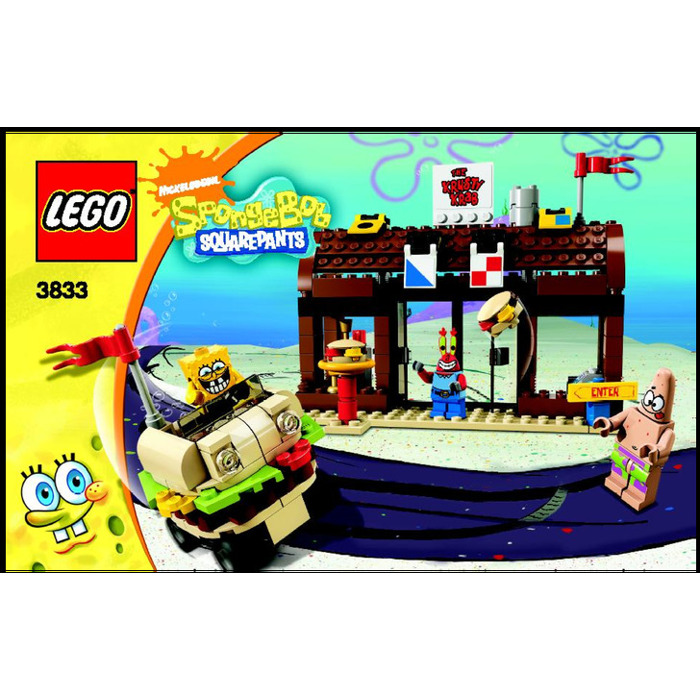 Lego Krusty Krab Adventures Set 3833 Instructions Brick Owl Lego