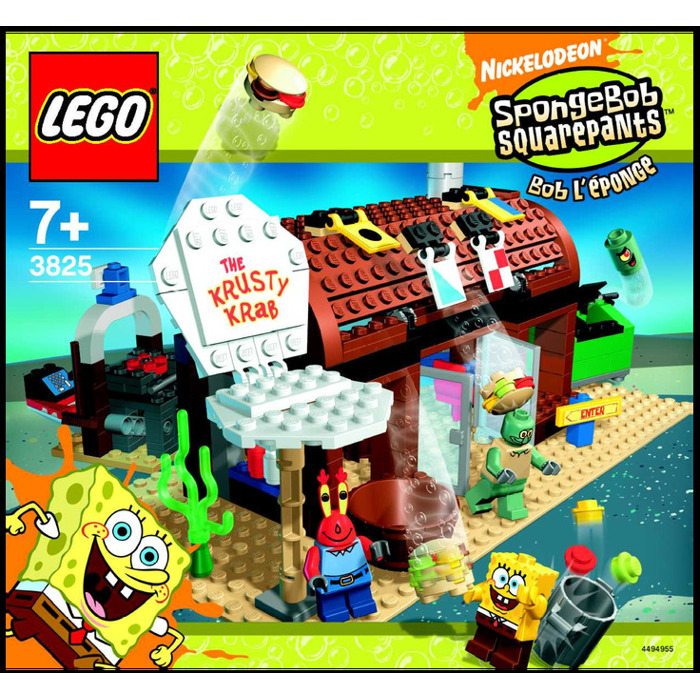 Lego Krusty Krab Set 3825 Instructions Brick Owl Lego Marketplace