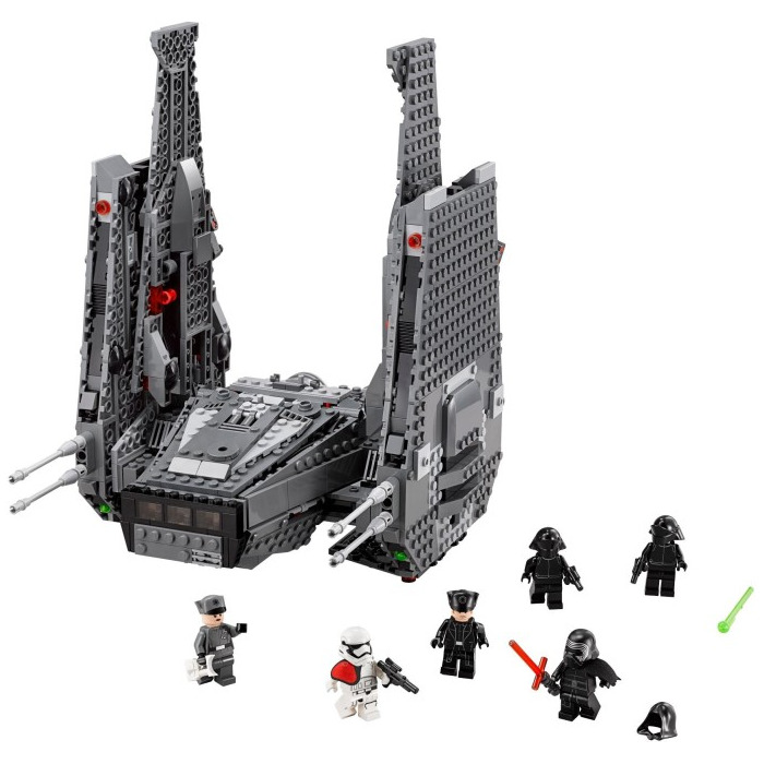 lego kylo ren command shuttle instructions