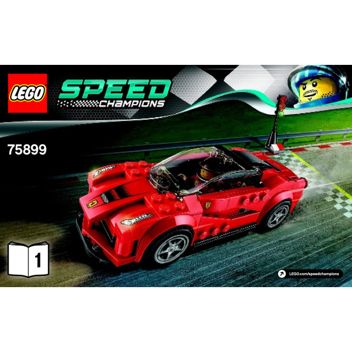lego laferrari set 75899 instructions brick owl lego marketplace. Black Bedroom Furniture Sets. Home Design Ideas