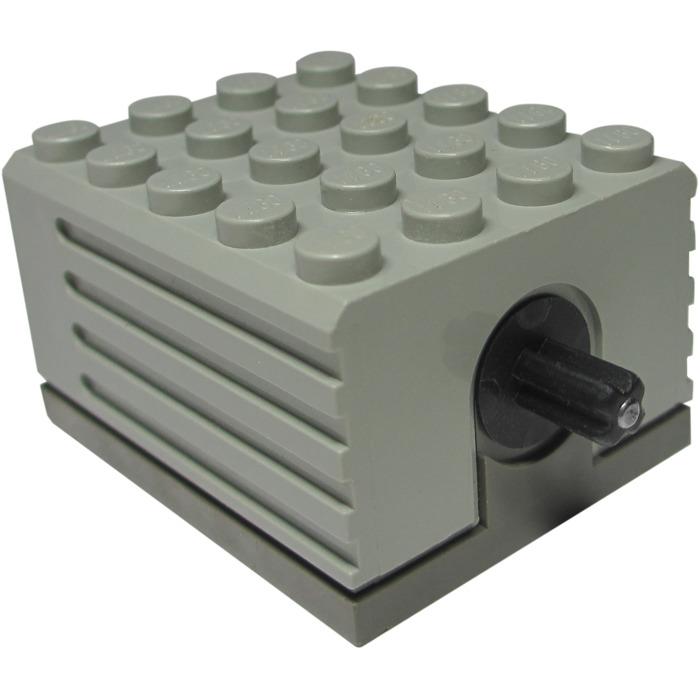 lego large technic motor 9v 2838 brick owl lego march. Black Bedroom Furniture Sets. Home Design Ideas