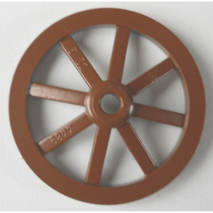 Lego large wagon wheel mm diameter with round hole for