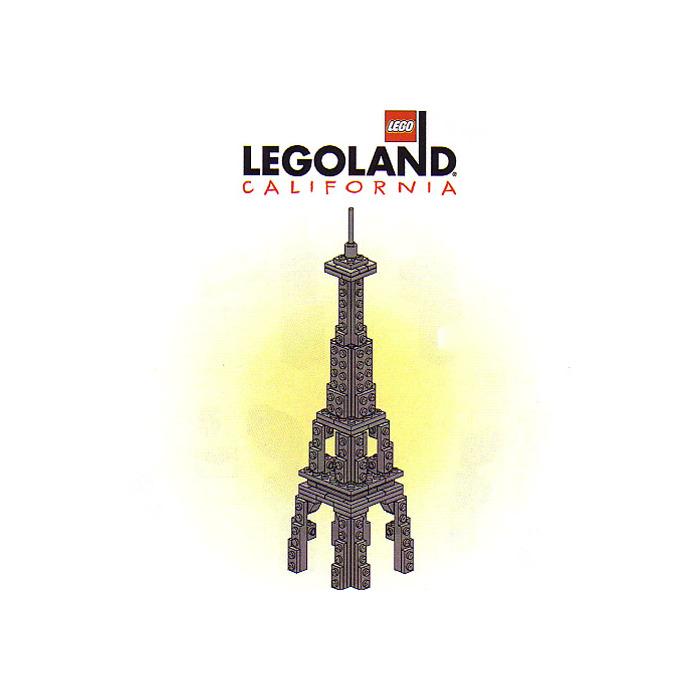 Lego Las Vegas Skyline Eiffel Tower Set Llca25 Instructions Brick