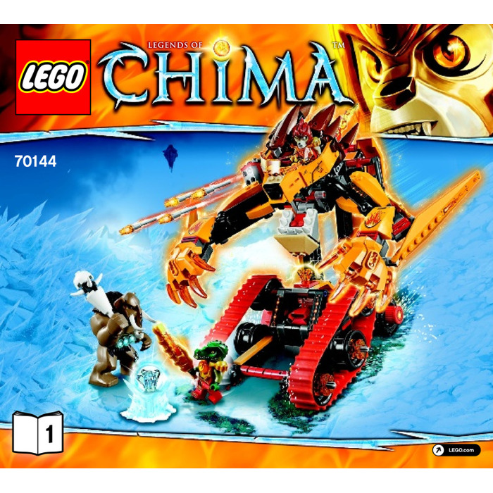 Lego Lavals Fire Lion Set 70144 Instructions Brick Owl Lego