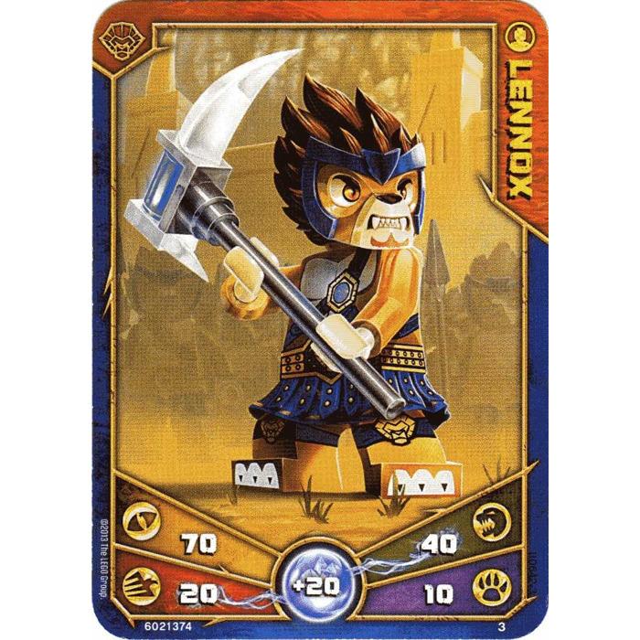 LEGO Legends of Chima Game Card 003 LENNOX (12717) | Brick ...