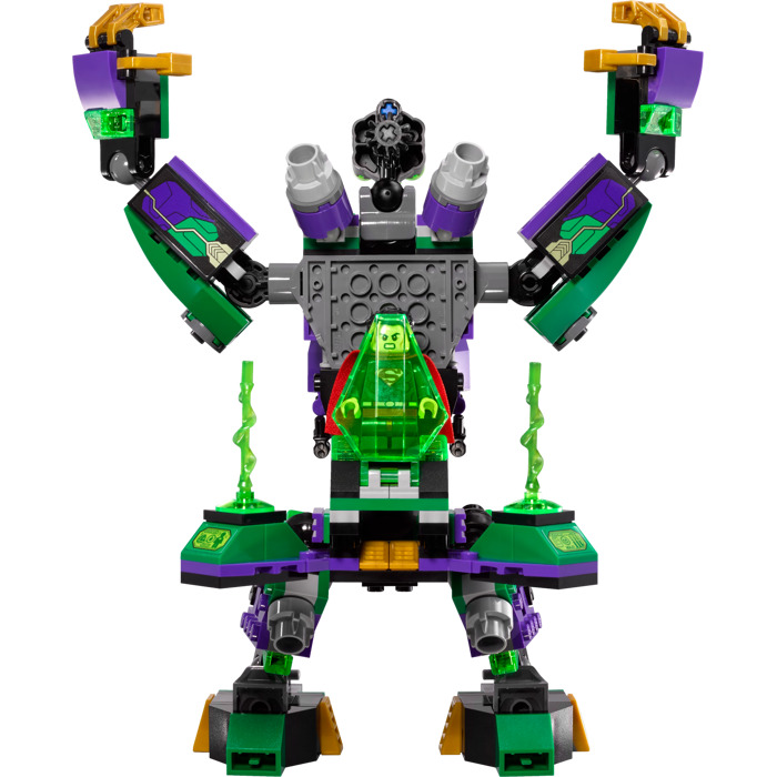 lego lex luthor mech instructions