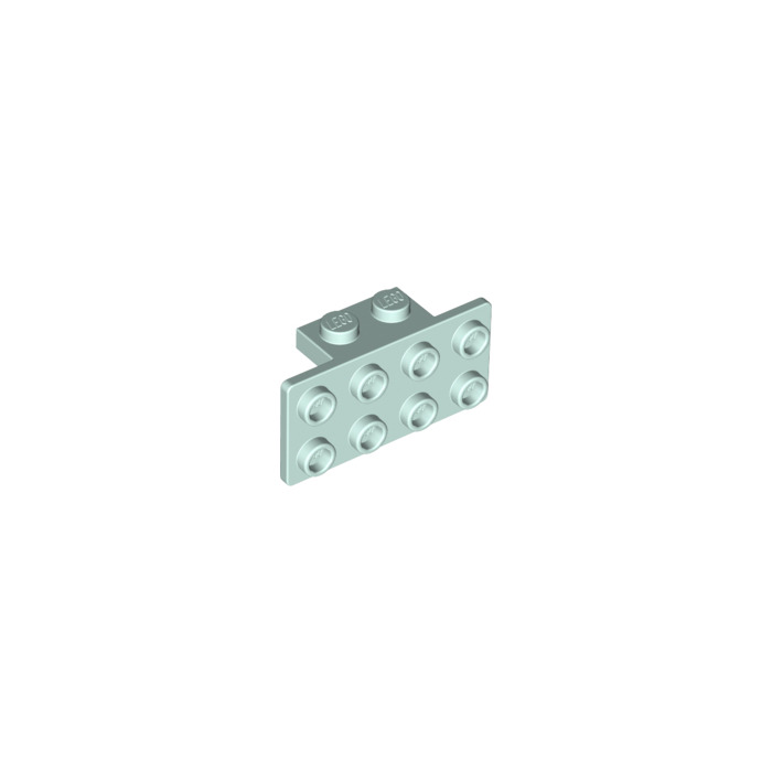 Lego 10 Pieces 1x2-2x4 Dark Grey Bracket 21731//93274
