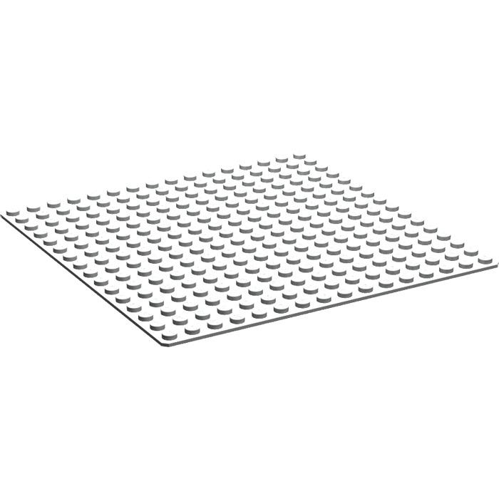 LEGO Green 16x16 Thin Base Plate Baseplate