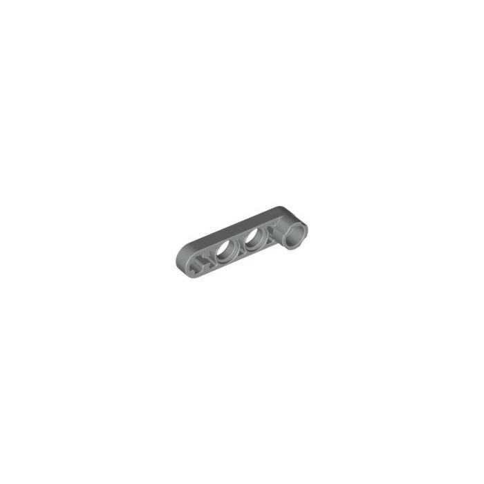 Lego 4x Technic Liftarm Thin 1x4 Stud Pale Grey 2825 32006 Lot