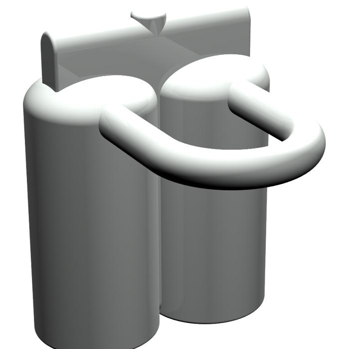 Lego 2x cylinder Ventilator Air Oxygen Minifigures Dark Grey 30091 88417