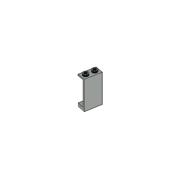 Lego 2362 B # 2x Panels 1x2x3 Grey Old Light Grey 10030 7191