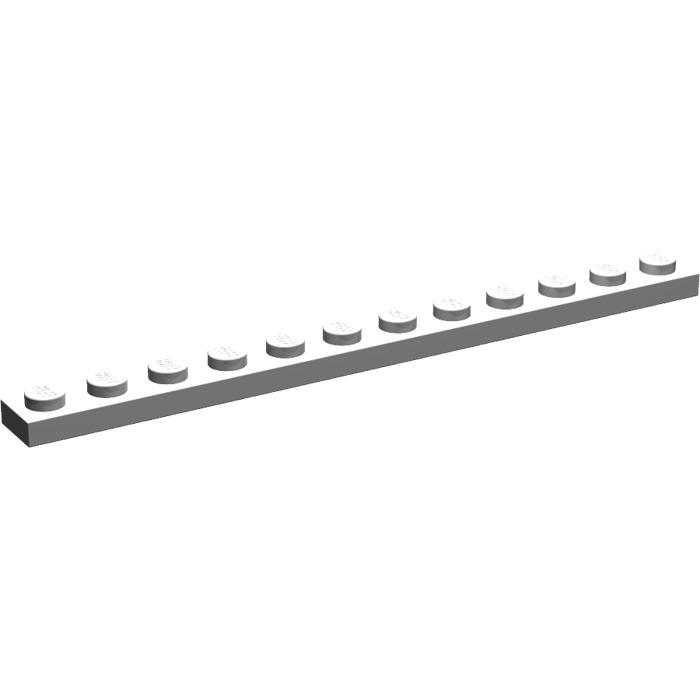 gris 4 x LEGO 60479 Plaque NEUF NEW light bluish grey gray Plate 1x12