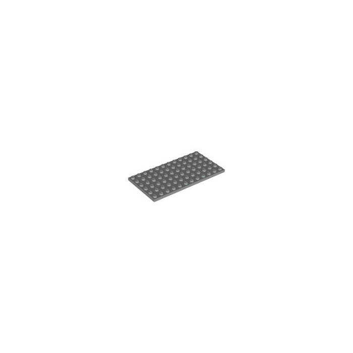 LEGO PART 3028 Plate 6 x 12 green//grey x 1