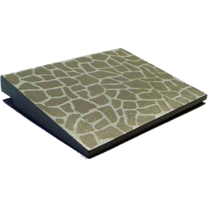 Lego 1x Slope Pente 6x8 8x6 Slate Roof Pattern 4515p03