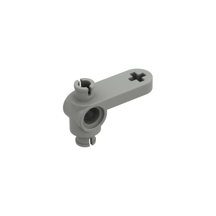 Technic Steering Arm in Light Grey x 4 LEGO 4261