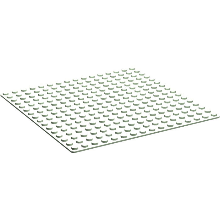 LEGO Bright Green 16x16 Baseplate Base Plate Piece