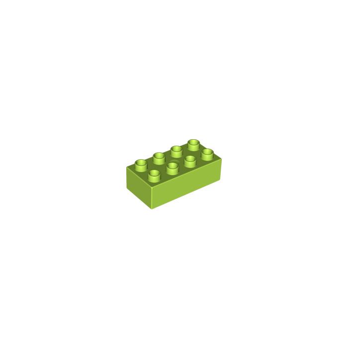 Lime Brick On Image : Lego lime duplo brick  owl