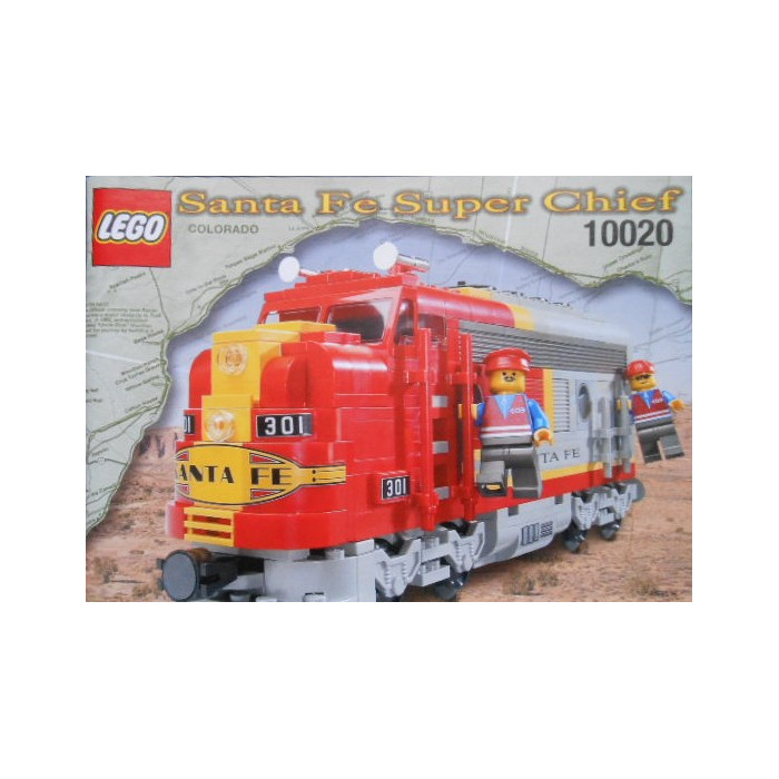 Lego Limited Edition Santa Fe Super Chief Set 10020 2 Instructions