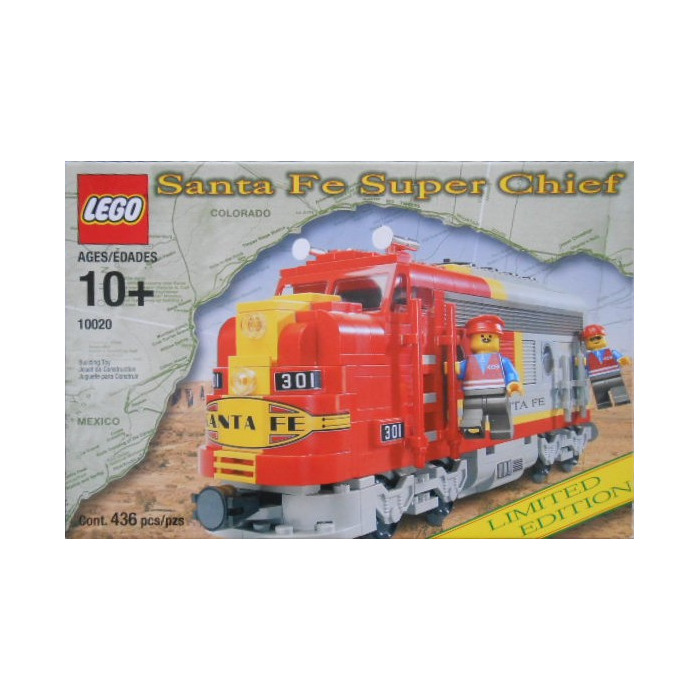 Lego Limited Edition Santa Fe Super Chief Set 10020 2 Packaging
