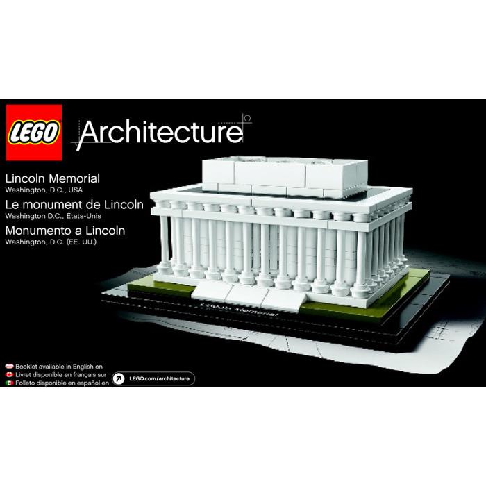 Lego Lincoln Memorial Set 21022 Instructions Brick Owl Lego