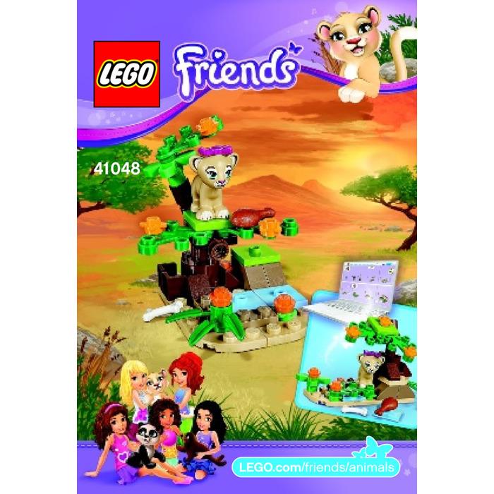 Lego Lion Cubs Savanna Set 41048 Instructions Brick Owl Lego