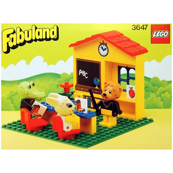 LEGO Lionel Lion's Classroom Set 3647 | Brick Owl - LEGO Marketplace