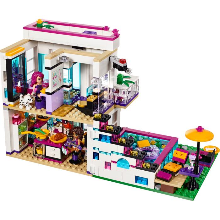 LEGO Livi's Pop Star House Set 41135 | Brick Owl - LEGO ...