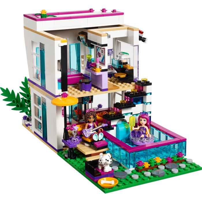 Lego livi 39 s pop star house set 41135 brick owl lego marketplace for Amazon oggetti per la casa