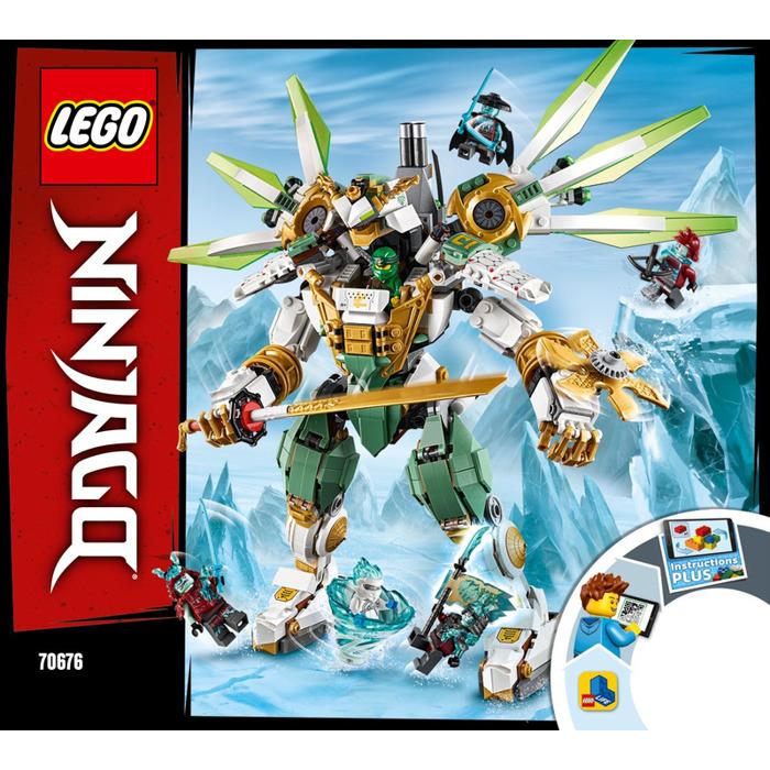 Lego Lloyd S Titan Mech Set 70676 Instructions Brick Owl Lego Marketplace
