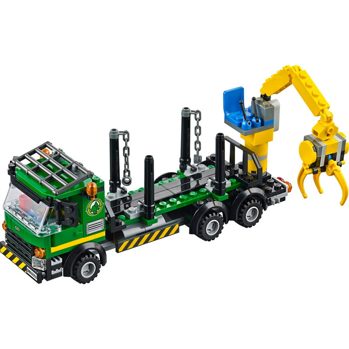 lego logging truck - photo #7