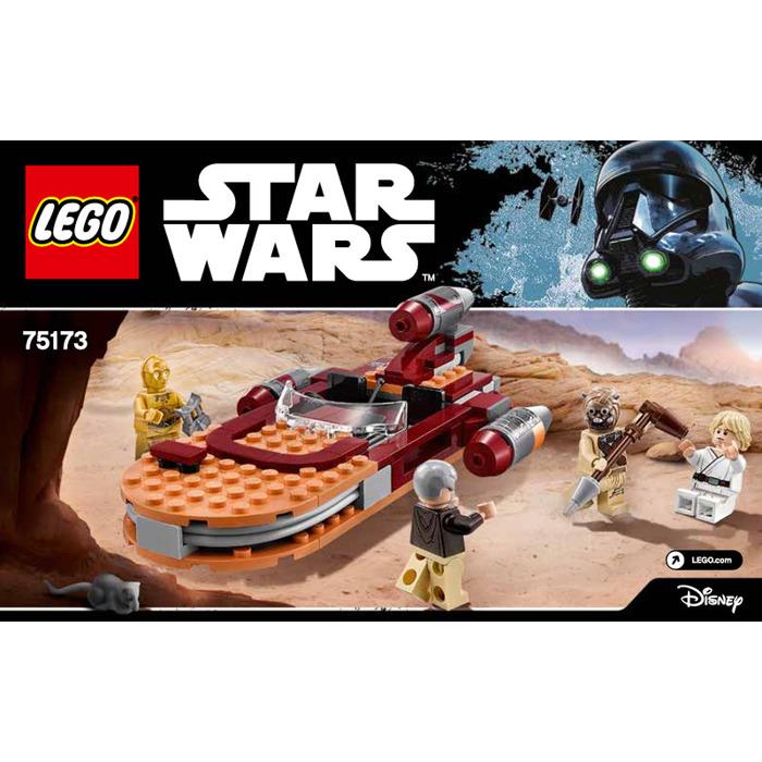 LEGO Star Wars Luke/'s Landspeeder 75173 NEW