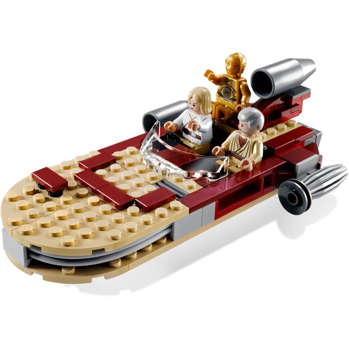 lego luke's landspeeder set 8092   brick owl - lego marketplace