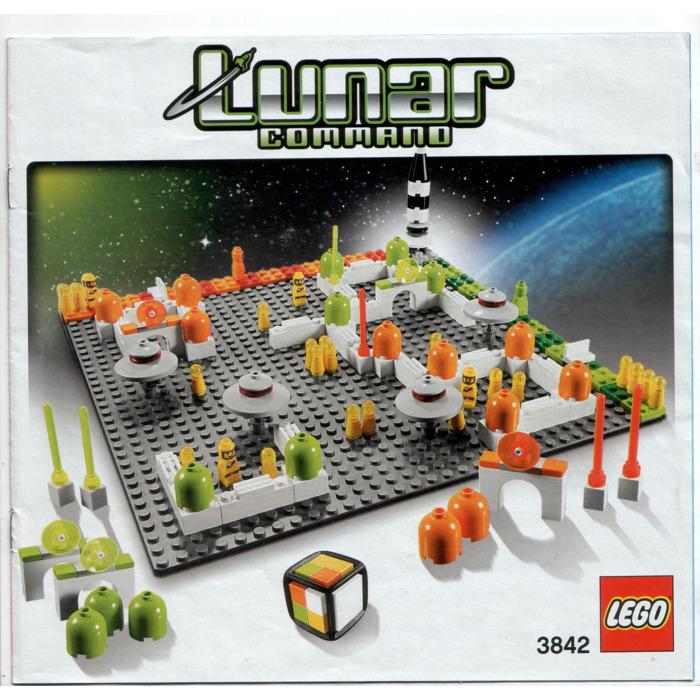 Lego Lunar Command 3842 Instructions Brick Owl Lego Marketplace