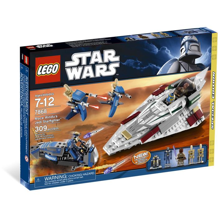 Lego mace windu 39 s jedi starfighter set 7868 brick owl - Image star wars lego ...