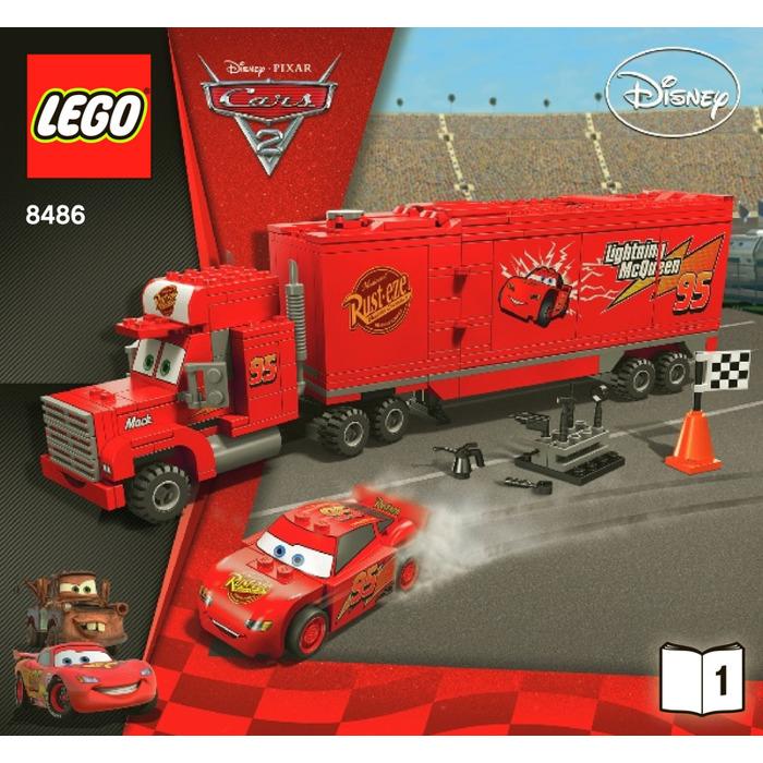 Lego Mack S Team Truck Set 8486 Instructions Brick Owl Lego Marketplace