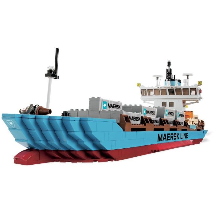 LEGO Maersk Line Container Ship Set 10155   Brick Owl - LEGO Marketplace