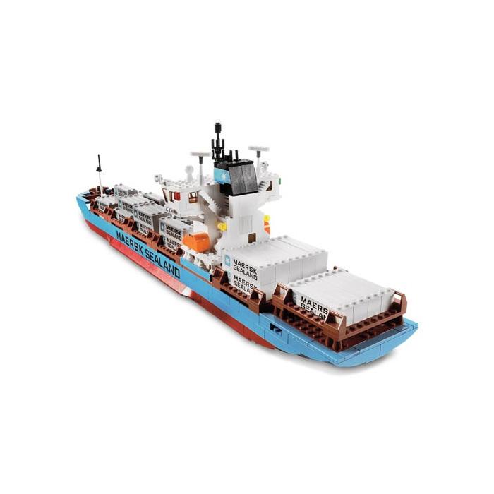 lego maersk ship instructions