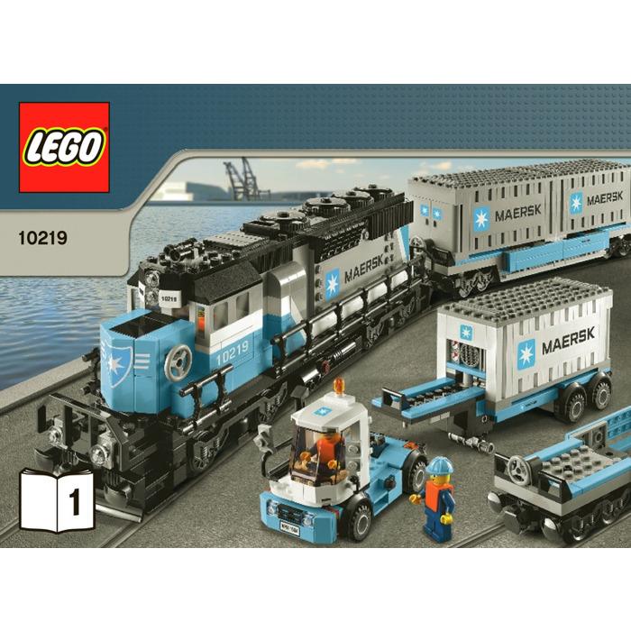 Lego Maersk Train Set 10219 Instructions Brick Owl Lego Marketplace