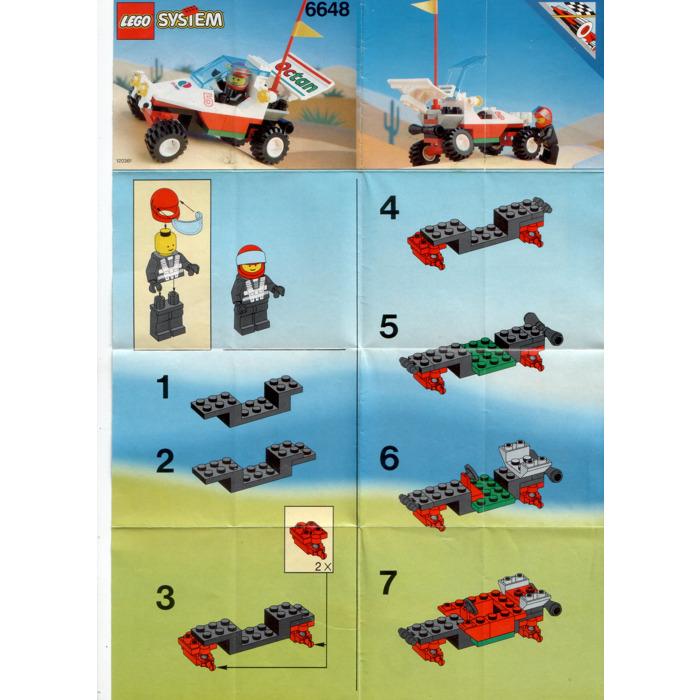 Lego Mag Racer Set 6648 1 Instructions Brick Owl Lego