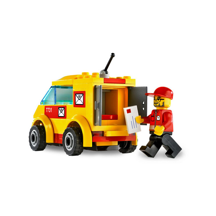 LEGO Mail Van Set 7731 | Brick Owl - LEGO Marketplace