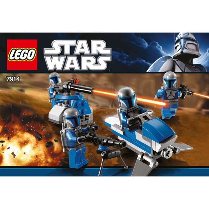 Lego Star Wars Battles 0 30 Apk: LEGO Mandalorian Battle Pack Set 7914 Instructions