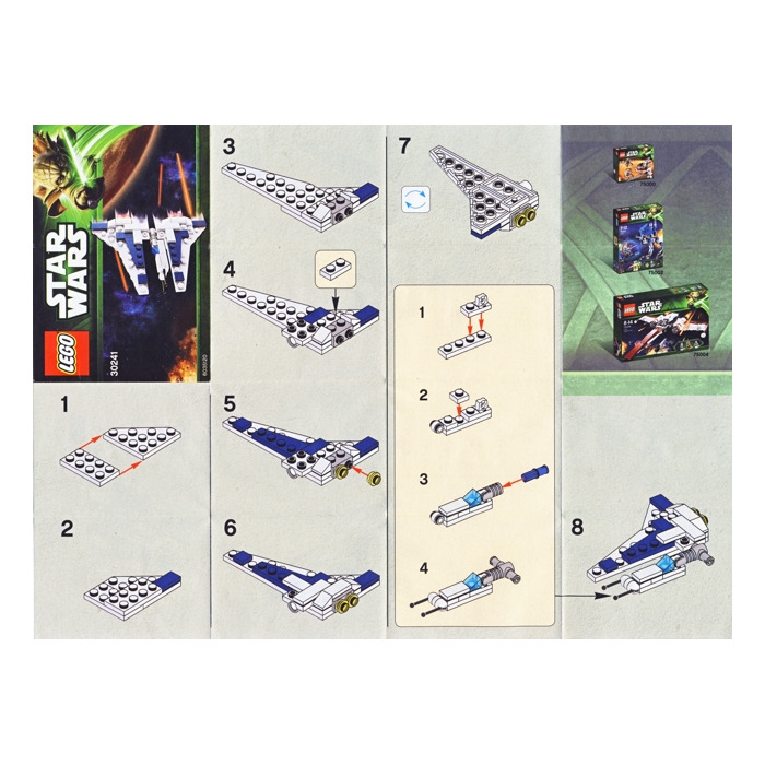Lego Star Wars Mini Sets Instructions Images Form 1040 Instructions