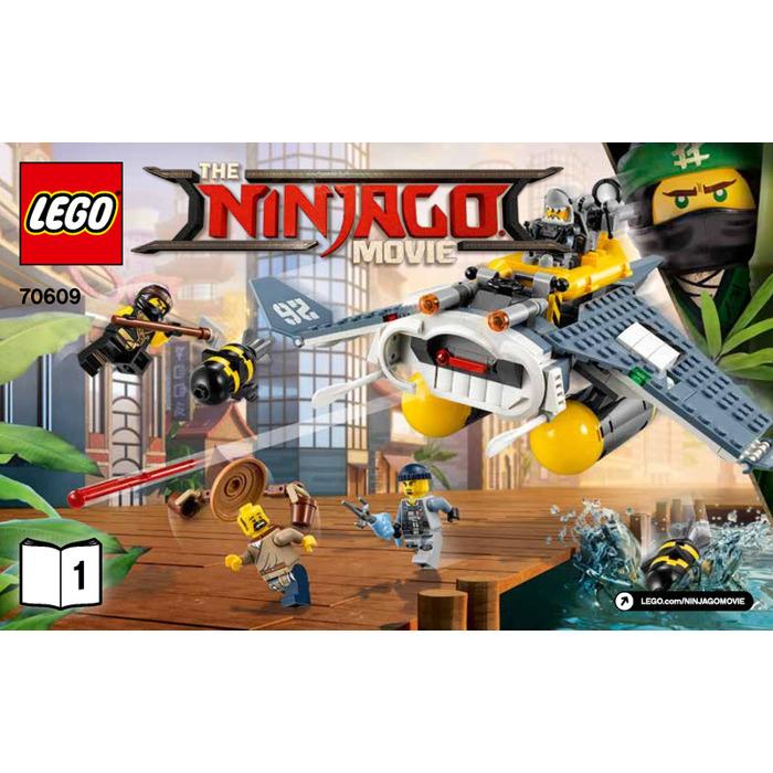 Lego Manta Ray Bomber Set 70609 Instructions Brick Owl Lego