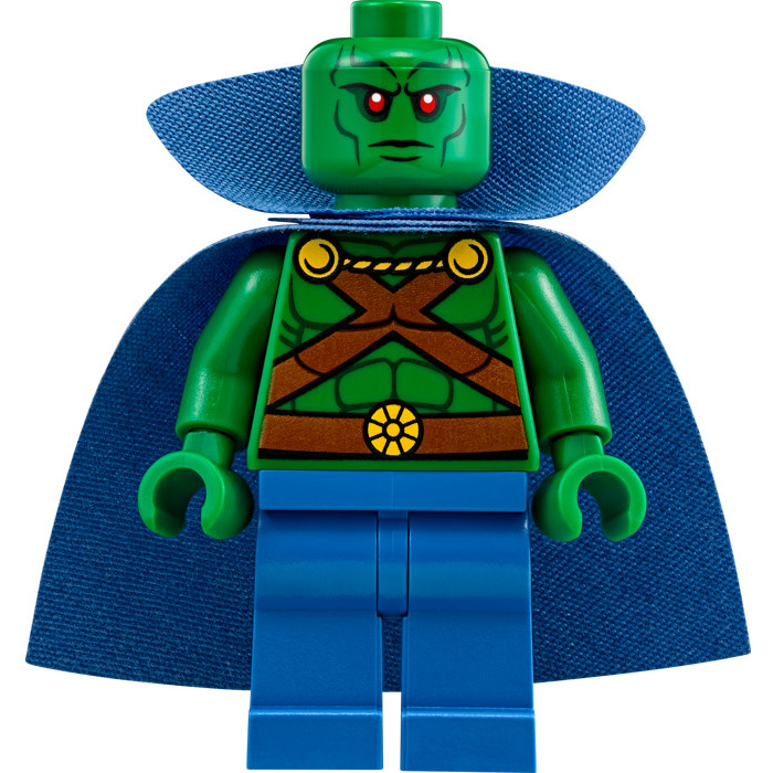 Lego Martian Manhunter Minifigure Inventory Brick Owl