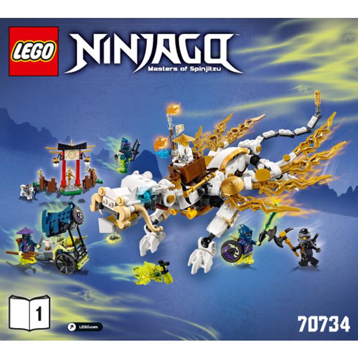 lego ninjago dojo showdown instructions