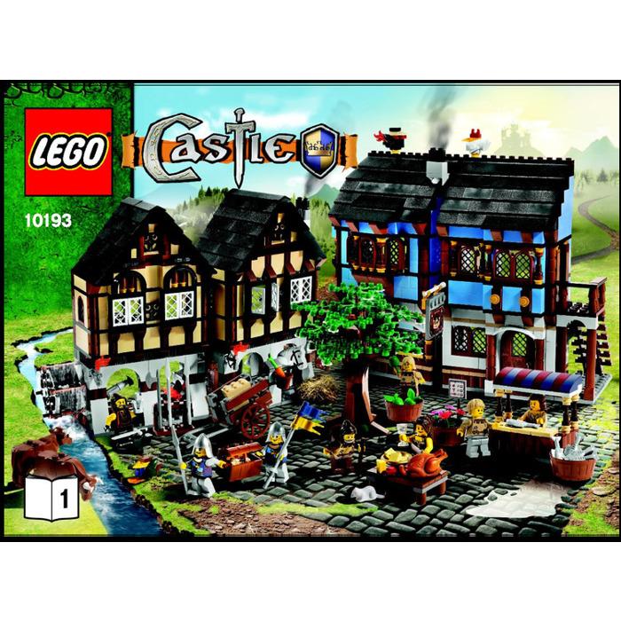 LEGO Medieval Market Village Set 10193 Instructions | Brick Owl ...