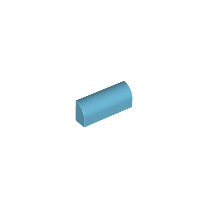 Lego 10x Brique Brick 1x2 2x1 azur moyen//medium azure 3004 NEUF