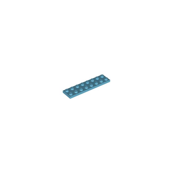 LEGO Piatta 2x8 PART 3034 x 4 Verde