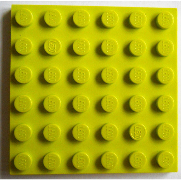 Details about  /LEGO Parts Pieces Lot ~ Plate 6 X 6 ~ Part# 3958 SOLID COLORS Qty//Price Vary