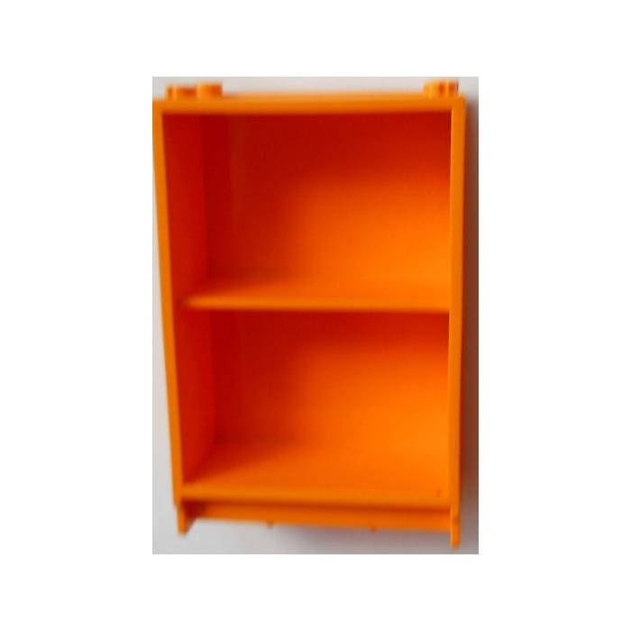 LEGO Medium Orange Scala Cabinet Bookshelf 6 X 3 7 2